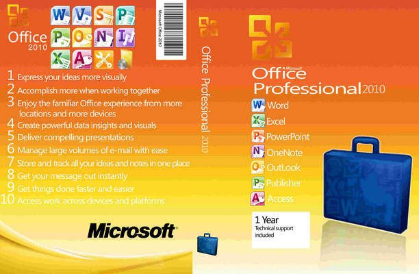 Microsoft office 2010 professional plus software on perfection jain software - Office professionnel plus 2010 ...
