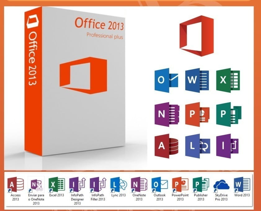 Microsoft Office 2013 Pro Plus Software On Perfection