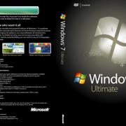 Windows 7 Ultimate Cover